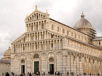 The Pisa Cathedral.