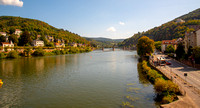 Looking East down the Neckar River