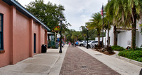 Walking around in Historic St. Augustine