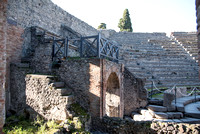 An entrance into one of the amphitheatres.