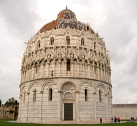 Another view of the Baptistry of St. John.