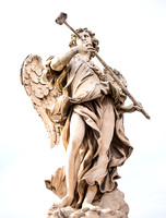 Angel with the Sponge by Antonio Giorgetti. Antonio Giorgetti (1635 � 24 December 1669) was an Italian sculptor. He was born and died in Rome, where he spent his entire career, a disciple of Gian Lore
