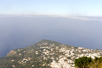 The Gulf of Naples Taken from on top of the mountain in Capri