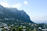 Capri and the cliffs overlooking the Gulf of Naples