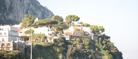 Some of the interesting homes and buildings on the cliffs above the Gulf of Naples. This was taken at full zoom from down in the village of Capri.