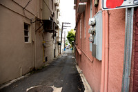 One of the narrow side streets in San Juan. This reminded me of the streets in the Rome Italy.