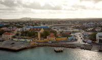 Kralendijk Bonaire as seen from the balcony of our ship. Adventure of the Seas - Southern Caribbean Cruise - Memorial Day week 2016