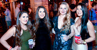 A group of ladies at the Wall St Plaza NYE Party Big smiles all around for the camera from the Orlando Weekly.
