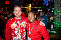 The Red Sweaters at Christmas. The 12 Bars of Christmas Pub Crawl. Downtown Orlando - December 9, 2016.