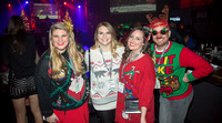 Lean in for the picture. The 12 Bars of Christmas Pub Crawl. Downtown Orlando - December 9, 2016.