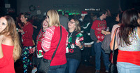 Party inside the Beacham. The 12 Bars of Christmas Pub Crawl. Downtown Orlando - December 9, 2016.
